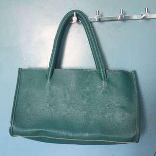 Teal Shoulder Bag