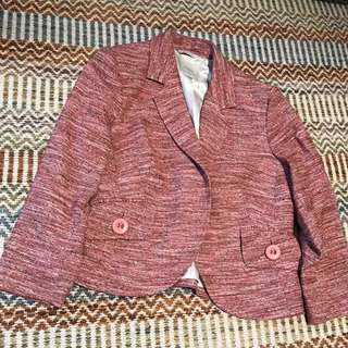 Pink and Brown Jacket