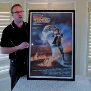 Used: Poster Advance Snap Frame (silver)