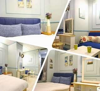 85夜空-經典藍調二人房