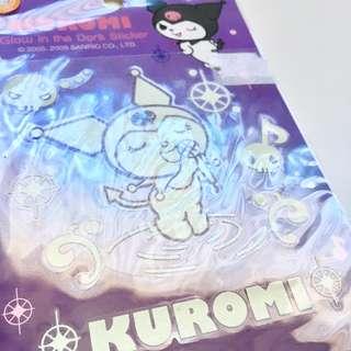 Sanrio Kuromi Glow in the Dark Stickers