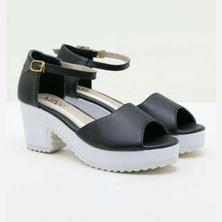 Midi Heels by Alive ( NEGO tipis ) Shoes/casual shoes/high Heels/ Wedges/ Platform Shies/stiletto/ sneakers/ sepatu Wanita