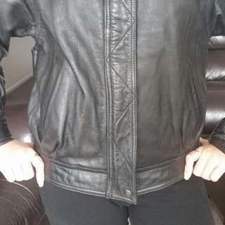 Disguise Size S Man's Leather Jacket