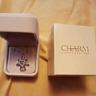 Charm Diamond Rose Gold Halo