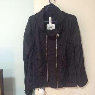 Sz M Lorna Jane Womens Black Motion Active Jacket