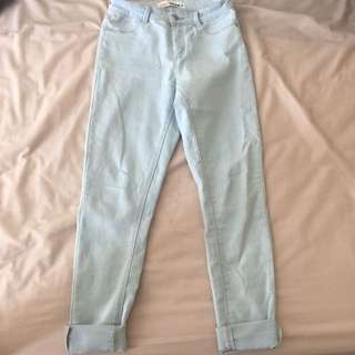Size 10 High Waisted Supre Jeans