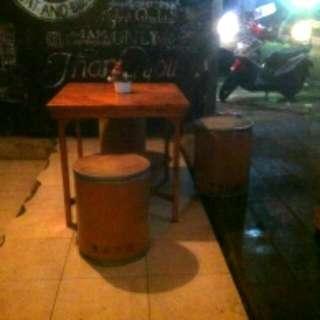 Bangku Drum Karton