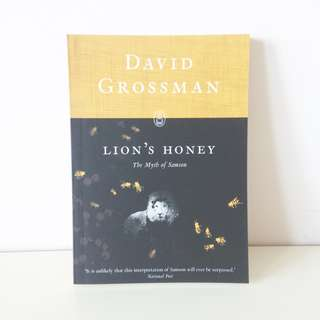 Lion's Honey - David Grossman