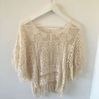 Crochet Swim Suit Cover Or Shirt