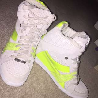 Coach Sneakers On Heels