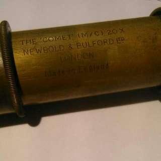 NEWBOLD & BULFORD 19世紀海軍(海盜) 望遠鏡