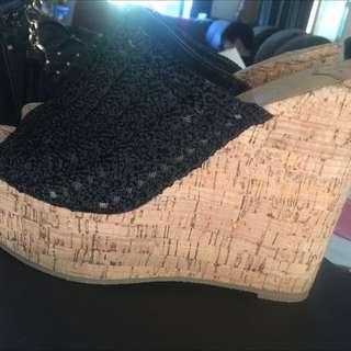 Tony Bianco Crochet Wedges