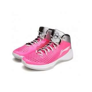 🚚 整月1250 李寧 Li-Ning 高筒 駭客 籃球鞋 韋德 Wade 黑白EUR:44/粉色EUR:45