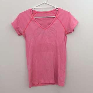 Lululemon Pink Top Aus Size 10