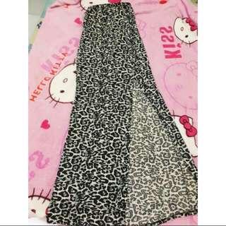 unbrand dress leopard