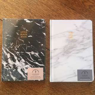 Marble (hard cover) Blank Notebook