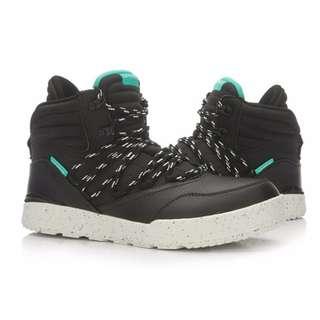 🚚 整月1250 李寧 Li-Ning 高筒 休閒鞋 靴子 黑 EUR:43(27CM)