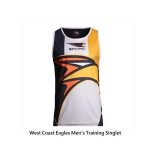 獨賣(2) 澳式足球聯盟 AFL Men's Training Singlet 球迷 訓練/練習 背心/汗衫 SIZE:L