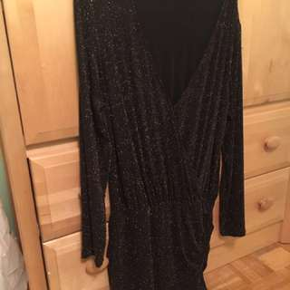 NEW Dynamite Long-Sleeved Party Dress