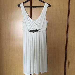 White Dress. Free Size