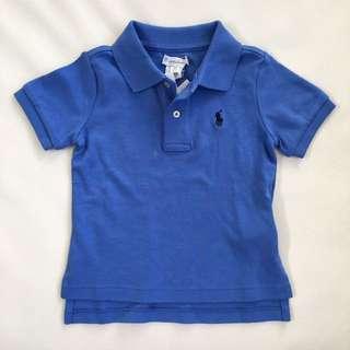 BNWT Ralph Lauren Polo Shirt (size 12m)