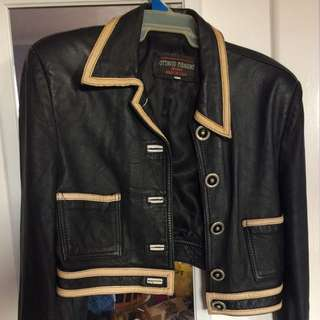 Ottavio Piragino Milano real leather jacket