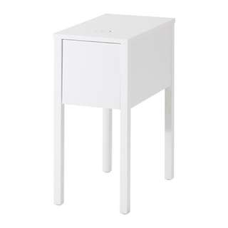 💥Brand New💥 2 Units - IKEA Bedside Table With Hole For Charger