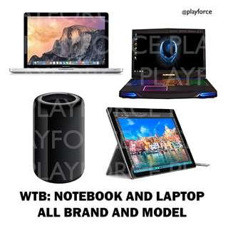 Buy: All Laptops! Mac/Win - Apple MacBook Pro Air iMac Acer Alienware Dell Lenovo MSI Microsoft Razer