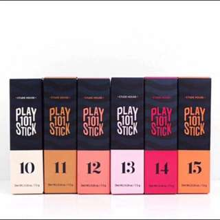 AUTHENTIC ETUDE HOUSE PLAY 101 STICKS