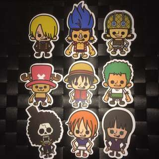 Sticker Waterproof High Quality - Onepiece Anime Stickers