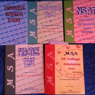 Set Of College Entrance Exam Reviewer