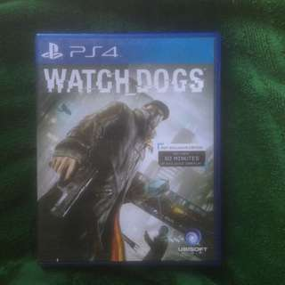 Jual Bd Ps4 Watch Dogs