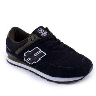 BNIB HRCN Black Eastern Running Shoes