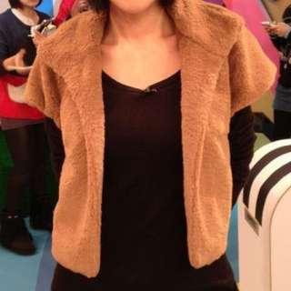 iROO 兔毛類高領外套
