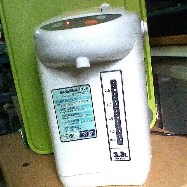 伊瑪牌電熱水壼1個(3.3L  IAP~33AU)