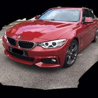 Wedding Car Bridal Car BMW 4