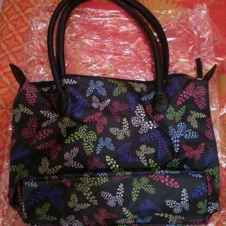 Avon SSS Butterfly Prints Tote Bag