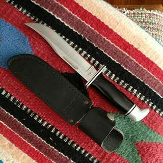 Buck 119 Knife With Leather Sheath