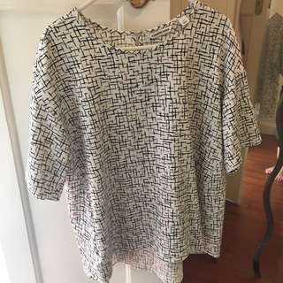 Country Road Oversized Top