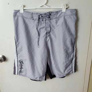 2 X Grey Board Shorts