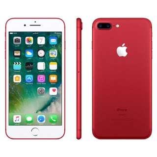 IPhone 7 plus RED,  128 gb