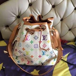 Monogram Multy Colour Drawsting Bag LV
