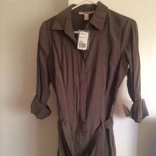 Forever 21 Olive Jumpsuit Brand New XS