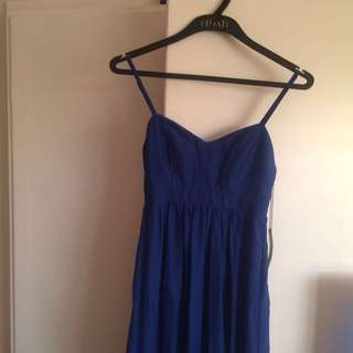 Felicity & coco Cobalt Blue Brand New Dress XS