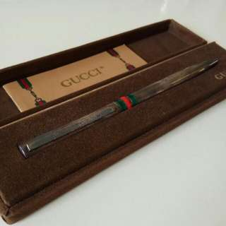 Gucci Sterling Silver Ball Pen