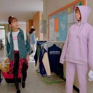 Weighlifting Fairy Kim Bok Joo Purple Hoodie