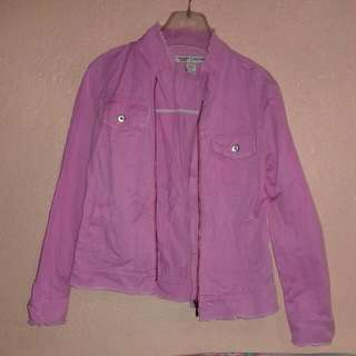 abercrombie & fitch pink jacket women
