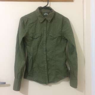 Army Green Shirt