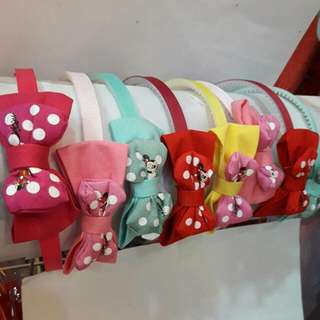 [New] Minnie Mouse Girl Hairband