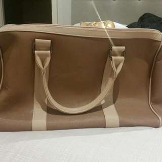 🔥 Colette Hand Bag Duffle Luggage Brown LV Inspired Brand New Perfect Condition With Shoulder Strap Inside Rrp $75 * PICK UP ONLY * Due To Size And Weight Hot Fashion Item 🔥